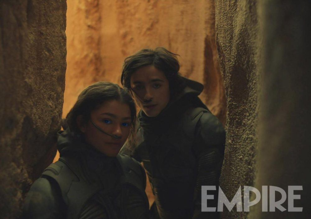 Dune: Da Empire foto e cover dal film di Villeneuve