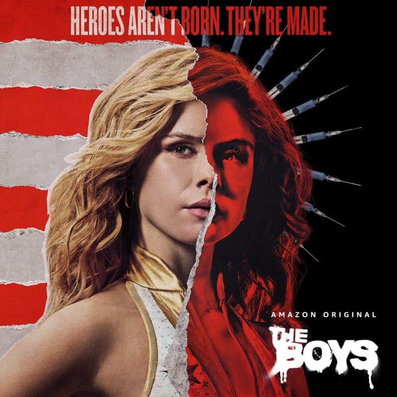I poster della seconda stagione di The Boys