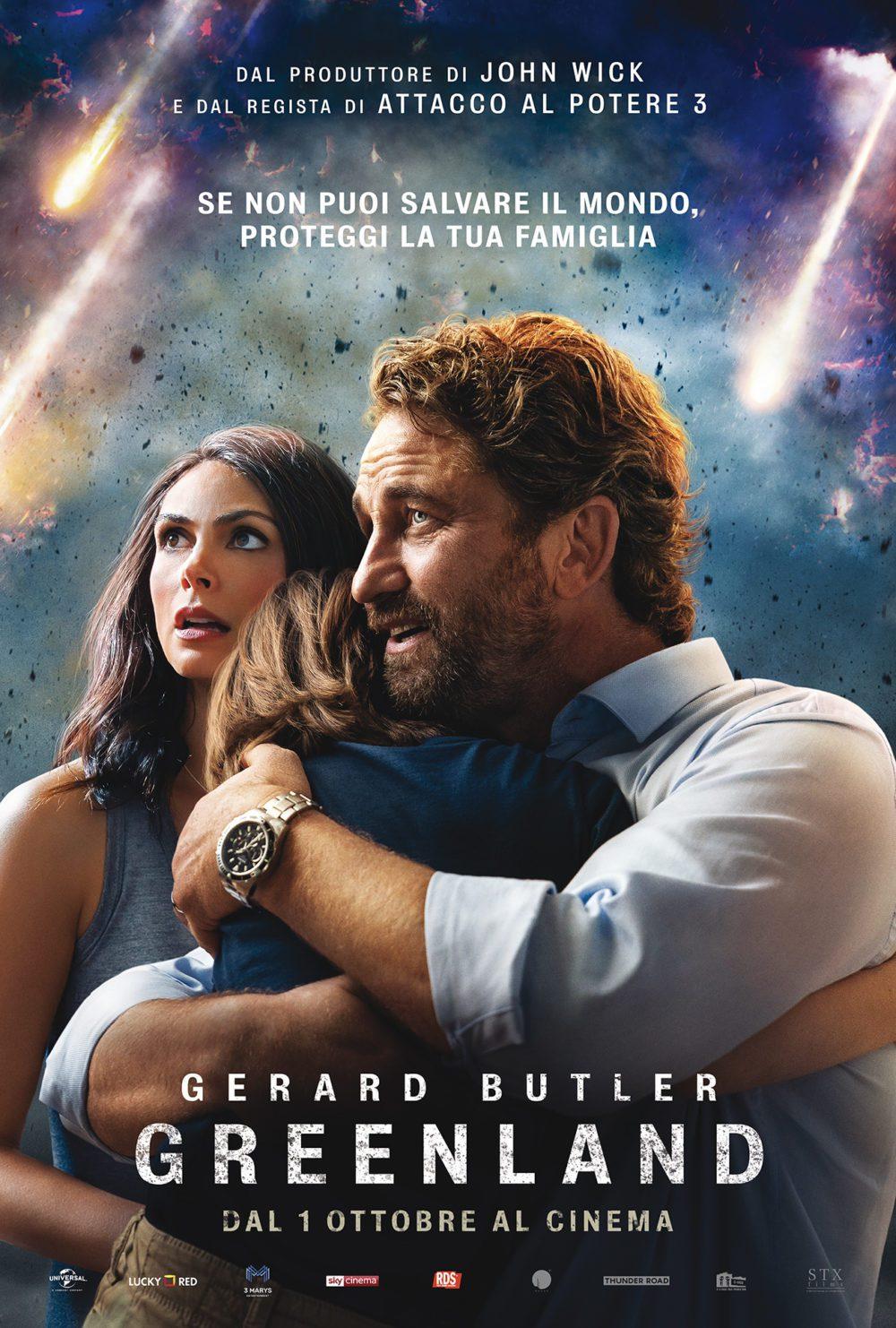 Greenland - Gerard Butler - Poster Ita