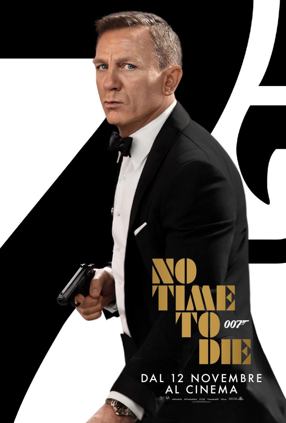 No Time to Die - Poster Ita
