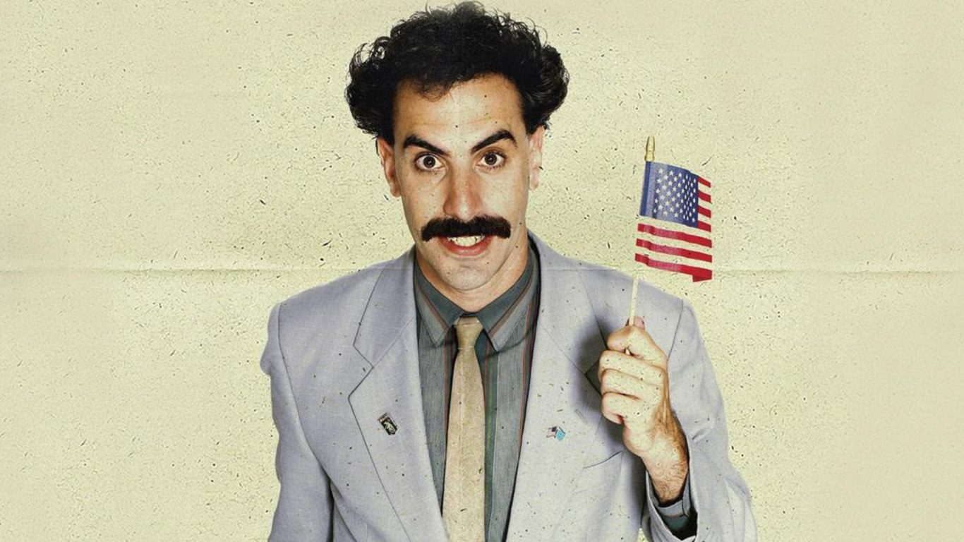 Borat 2: il film con Sacha Baron Cohen su Amazon Prime Video