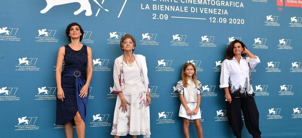 Le sorelle Macaluso a Venezia 77