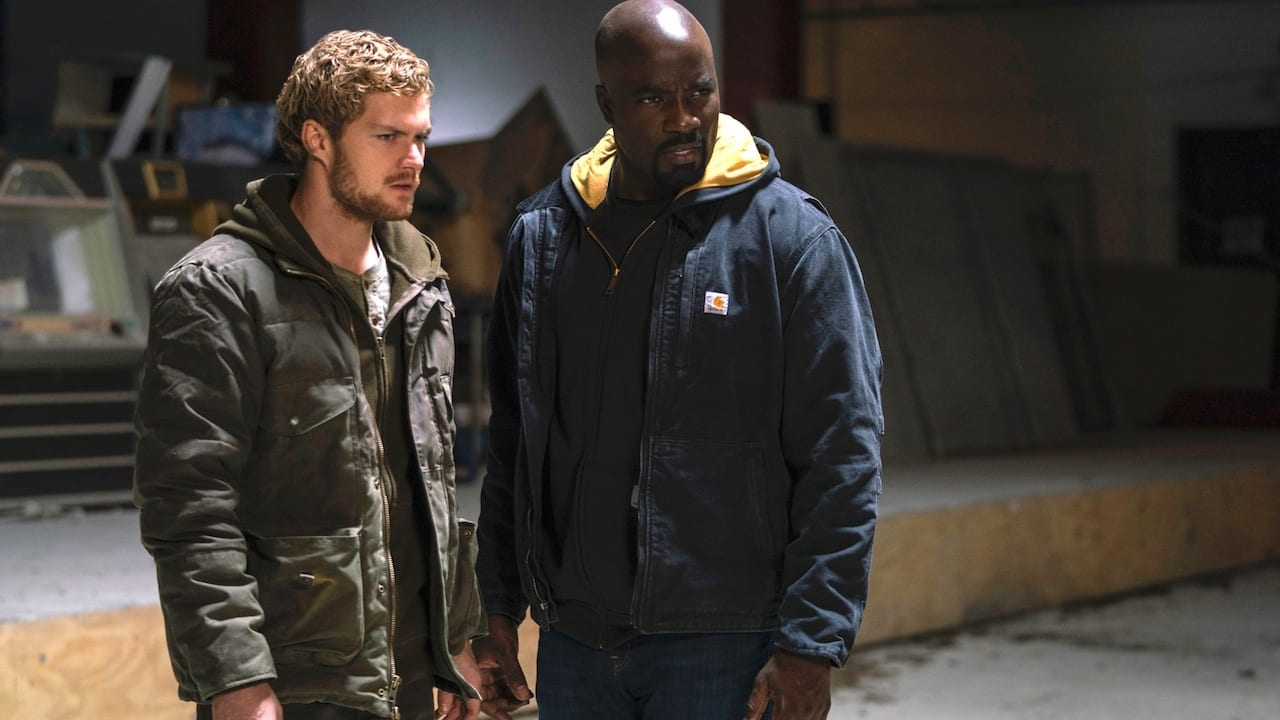 Iron Fist e Luke Cage Marvel