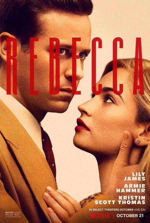 Da Netflix il primo poster di Rebecca, il film con Armie Hammer