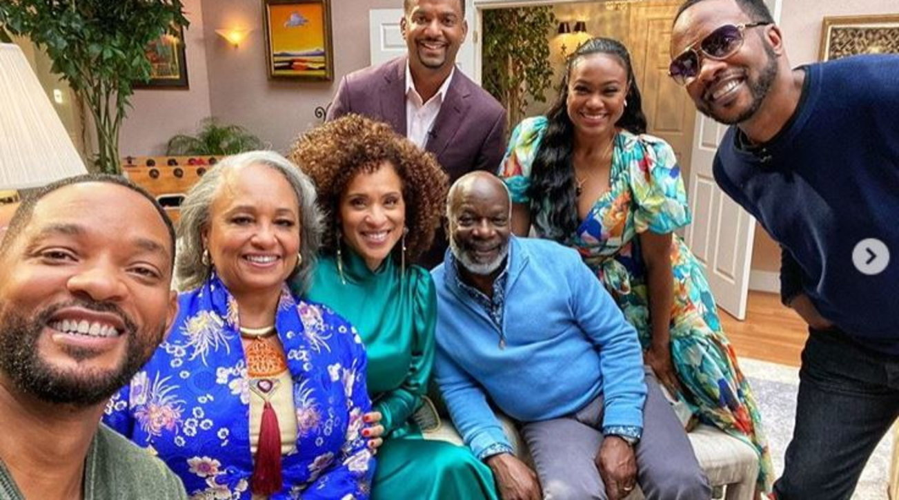 Willy il principe di bel air reunion