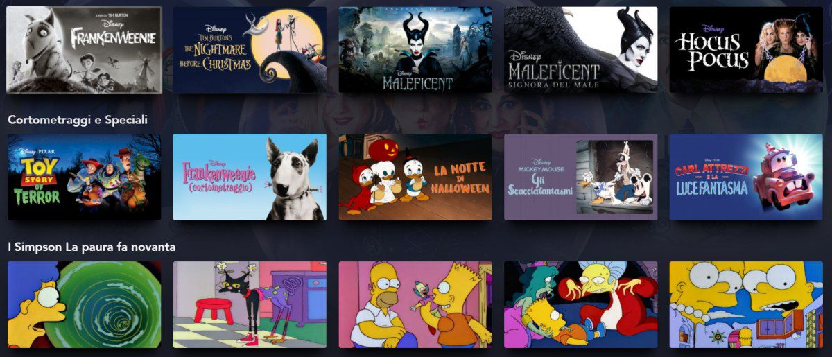 Hallowstrem Film Serie tv Disney