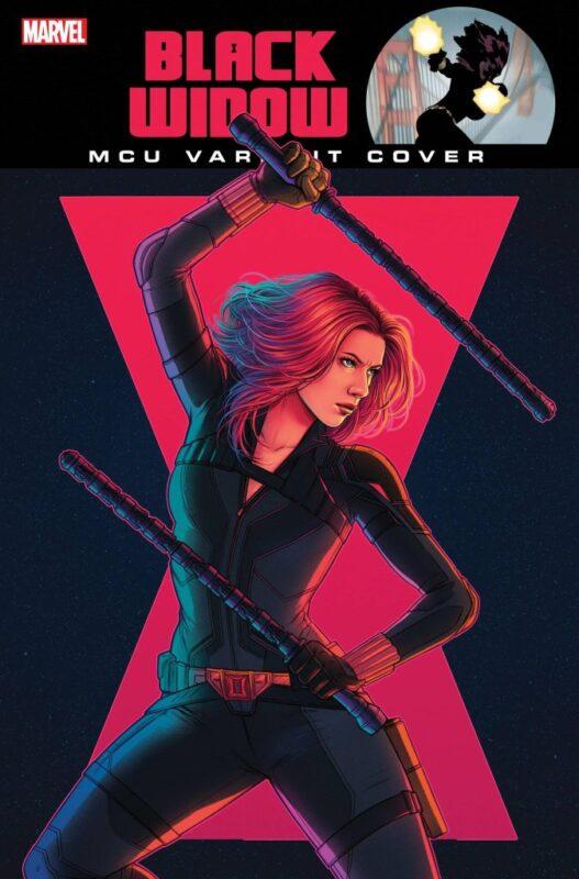 Black Widow: Scarlett Johansson nelle variant cover dei fumetti Marvel