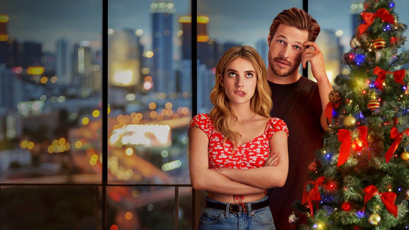 Holidate Film Netflix Trailer Emma Roberts