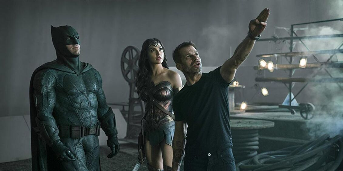 Justice League - Snyder Cut - Riprese