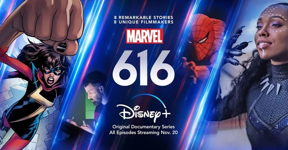 Marvel 616 Docu-serie trailer
