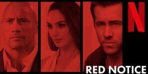 Red Notice Film Riprese
