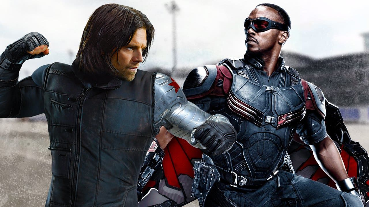 The Falcon and the Winter Soldier set praga