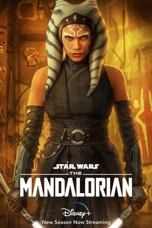The Mandalorian Ahsoka Tano poster