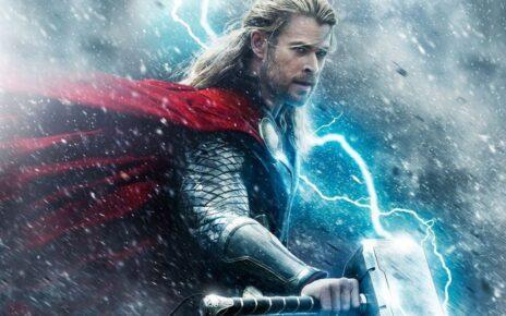 Chris Hemsworth Thor Fisico