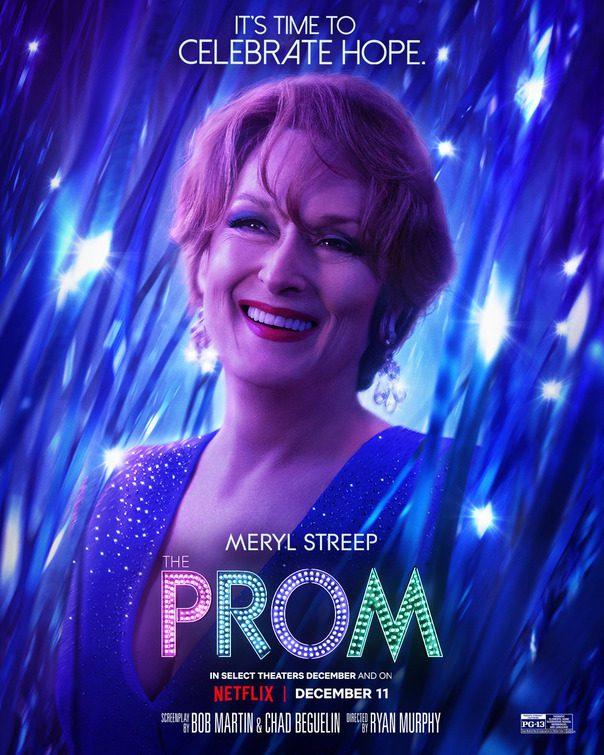 Meryl Streep e gli altri protagonisti nei poster di The Prom