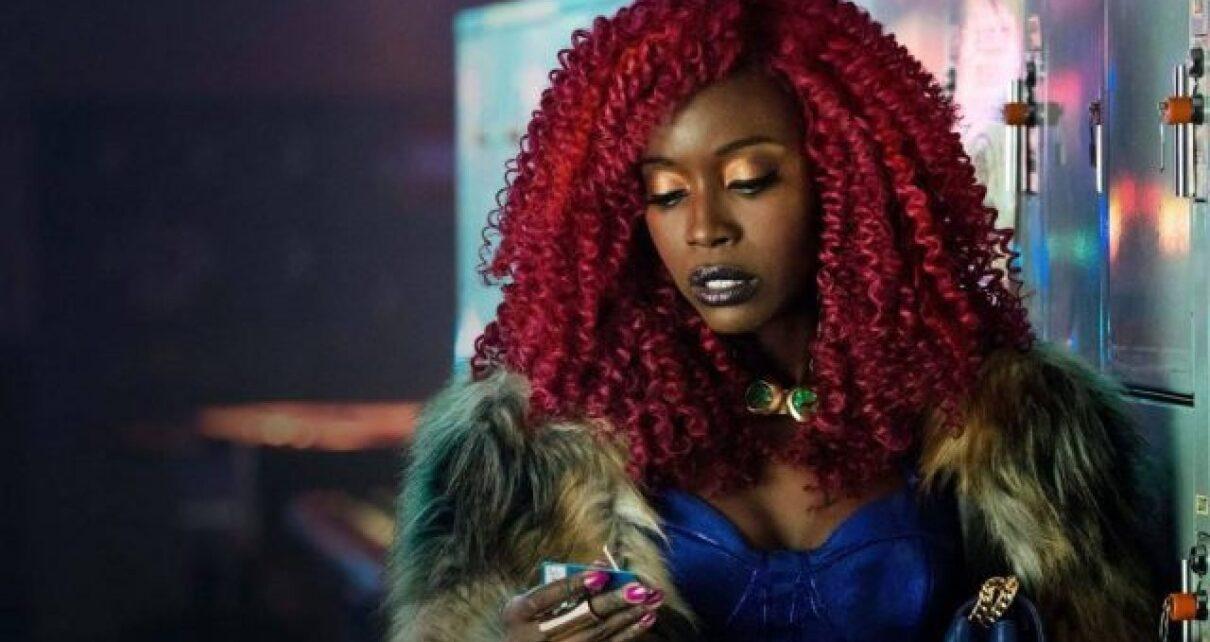 Starfire Anna Diop in Titans