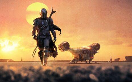 The Mandalorian Banner Tatooine