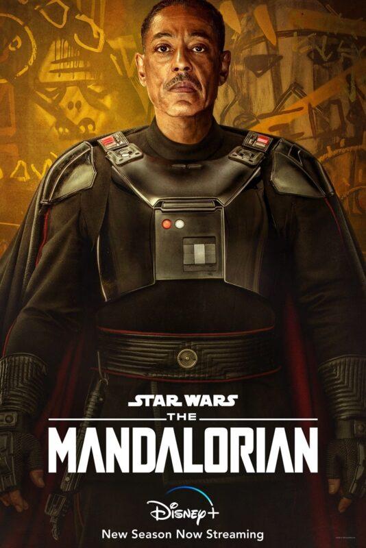 The Mandalorian 2 Poster Giancarlo Esposito