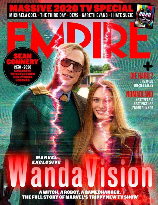 WandaVision serie copertina Empire Magazine