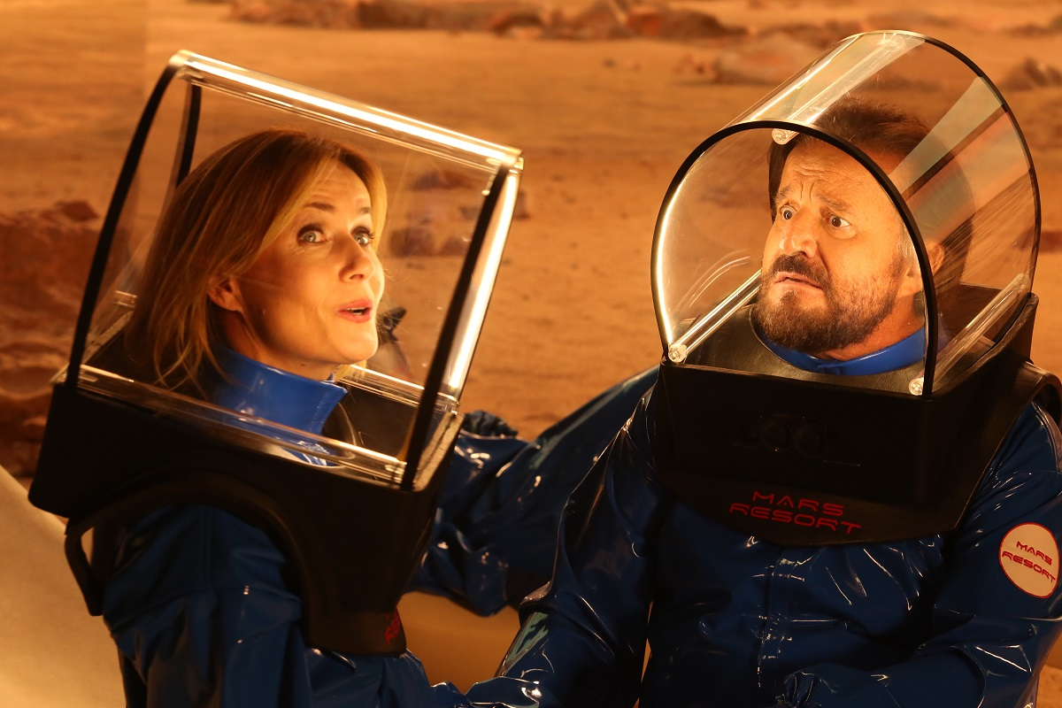 In vacanza su Marte: trailer e poster dal cinepanettone 2020