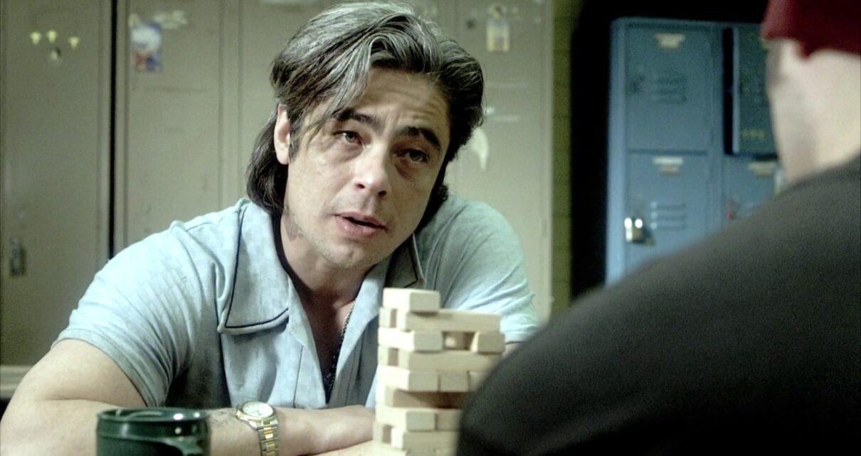 Benicio Del Toro in Reptile