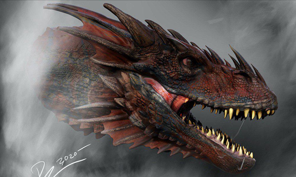 Draghi nei primi due concept art di House of the Dragon, la serie prequel di Game of Thrones