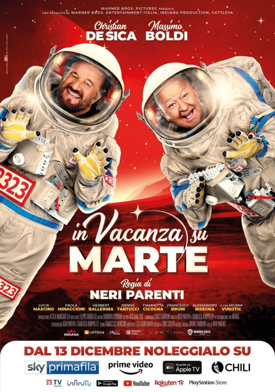In vacanza su Marte Poster