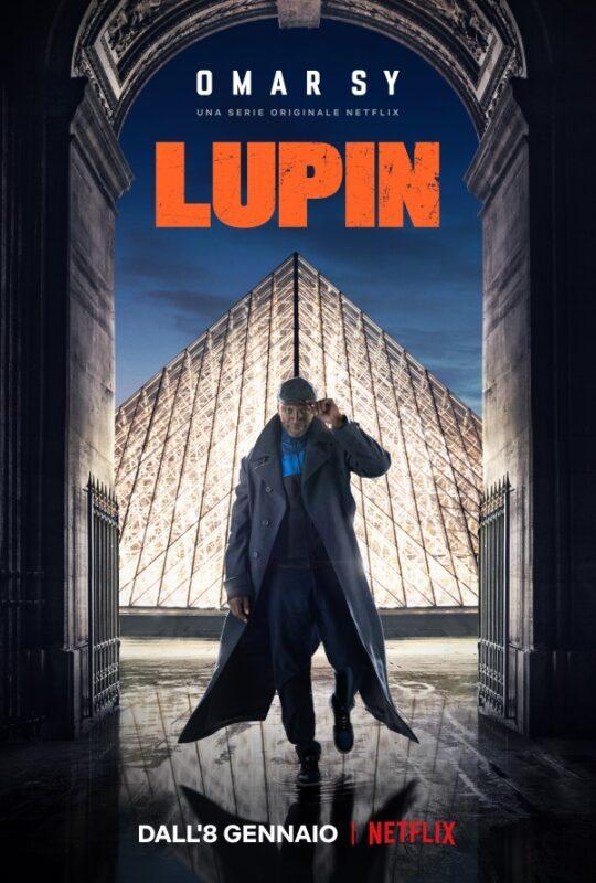 Lupin serie tv netflix poster