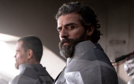 Oscar Isaac in Metal Gear Film