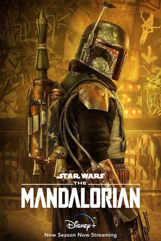 The Mandalorian poster Boba Fett