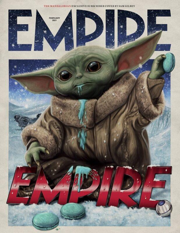 I protagonisti di The Mandalorian 2 in copertina su Empire Magazine