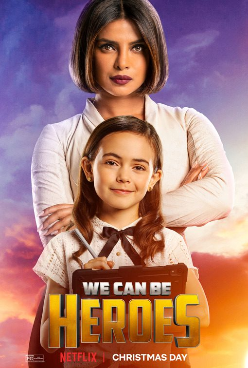 We Can Be Heroes: trailer italiano e tanti poster dal film Netflix