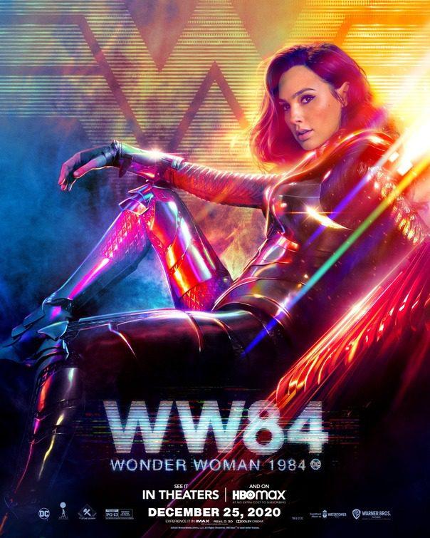 Volti e colori nei nuovi characters poster di Wonder Woman 1984