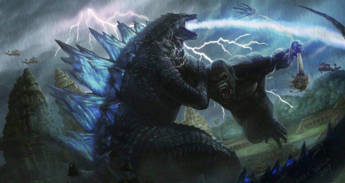Godzilla vs Kong prime immagini