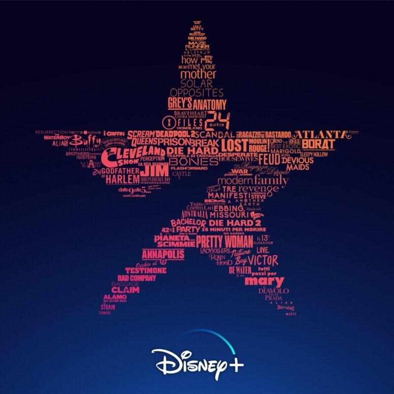 Star Disney+ catalogo