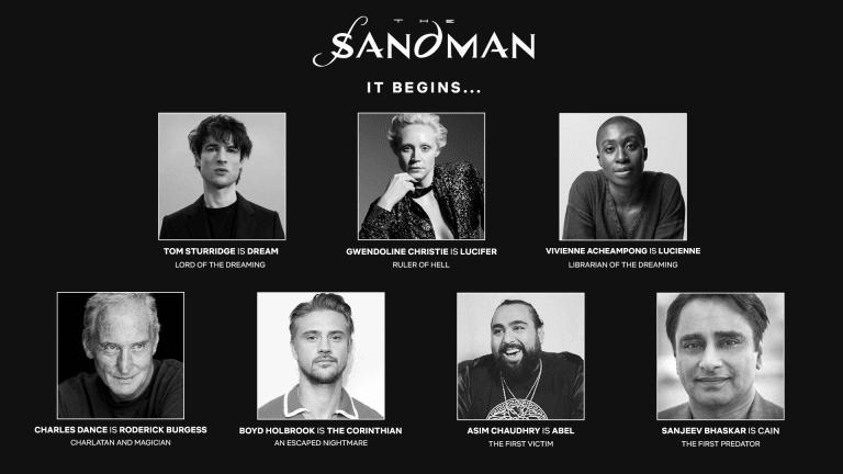 The Sandman Netflix cast