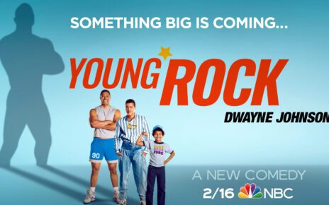 Young Rock serie trailer