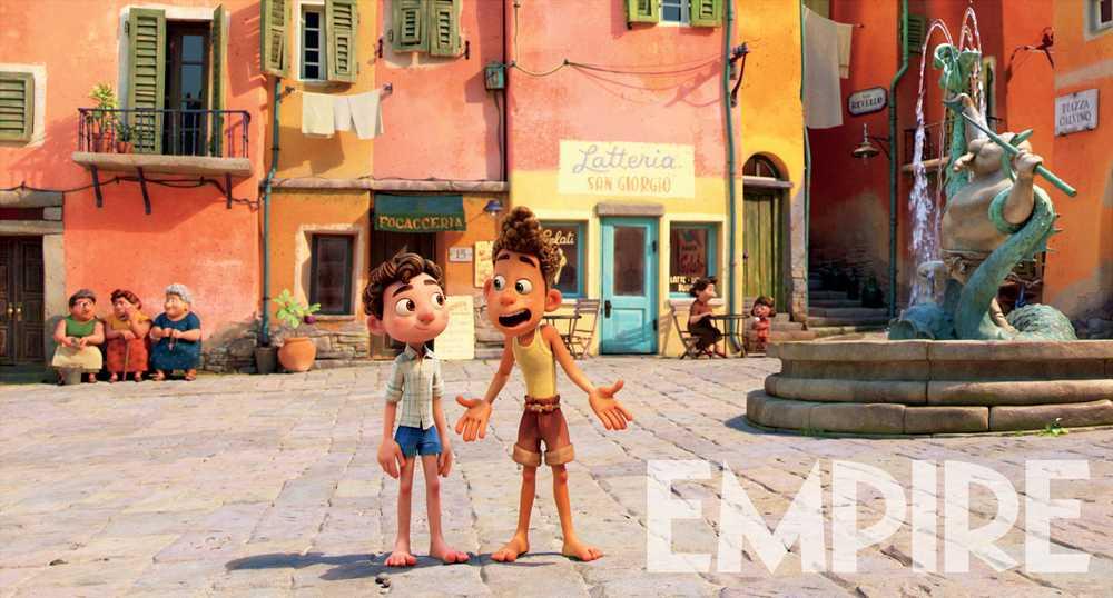 Luca film Pixar foto