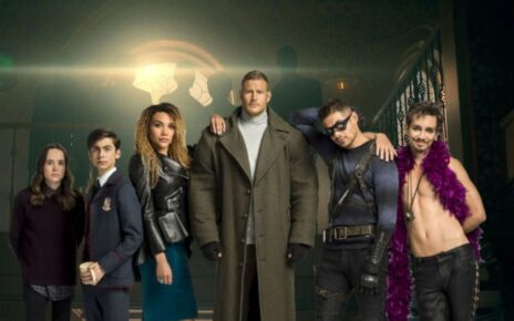 The Umbrella Academy - team sparrow