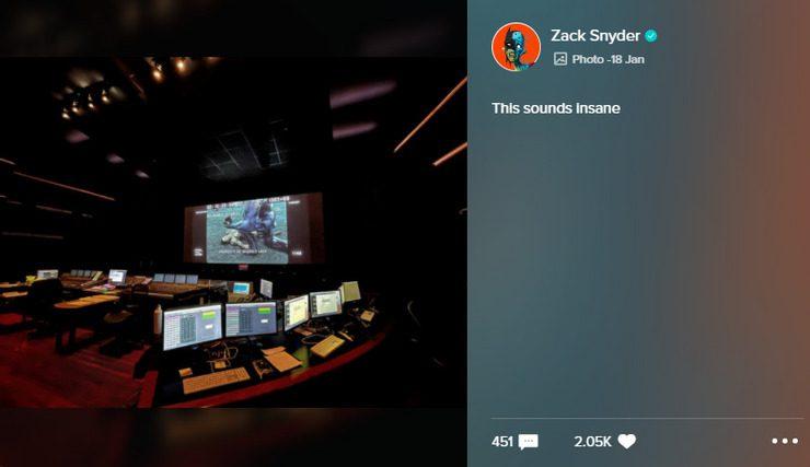 Snyder Cut sala montaggio Steppenwolf