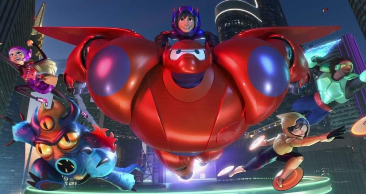 Big Hero 6 marvel cinematic universe