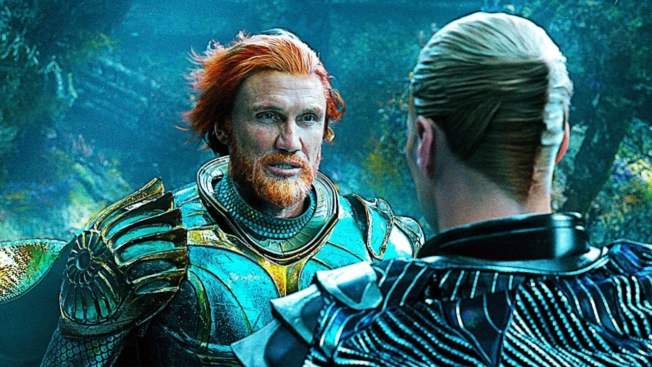 Aquaman 2 - Dolph Lundgren riprese