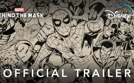 Behind the Mask Marvel trailer