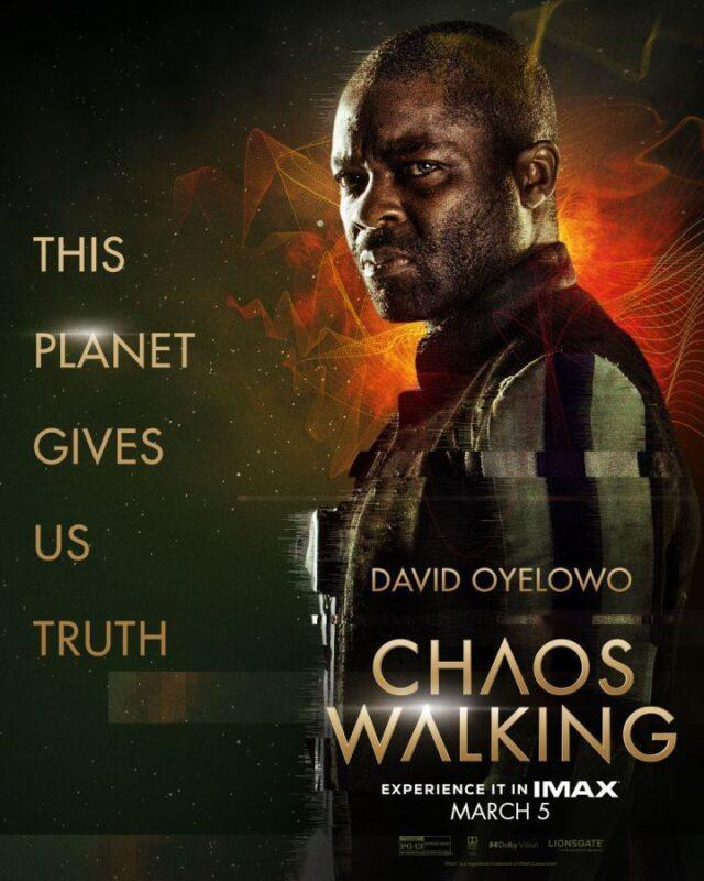 I characters poster dei personaggi di Chaos Walking