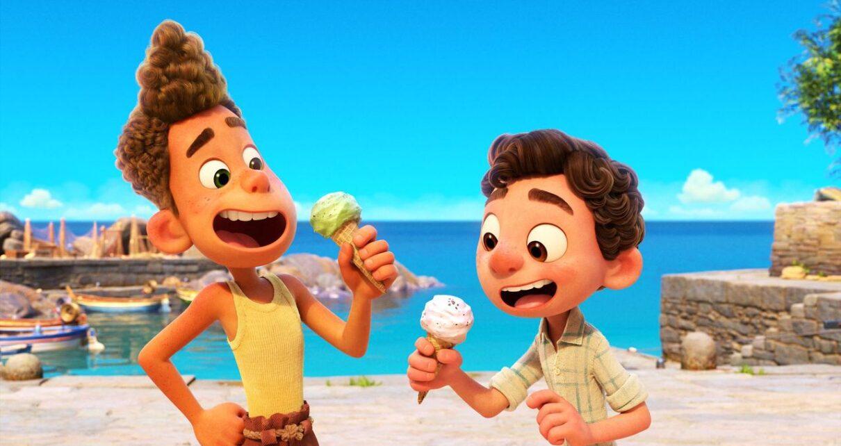 Luca Pixar primo poster