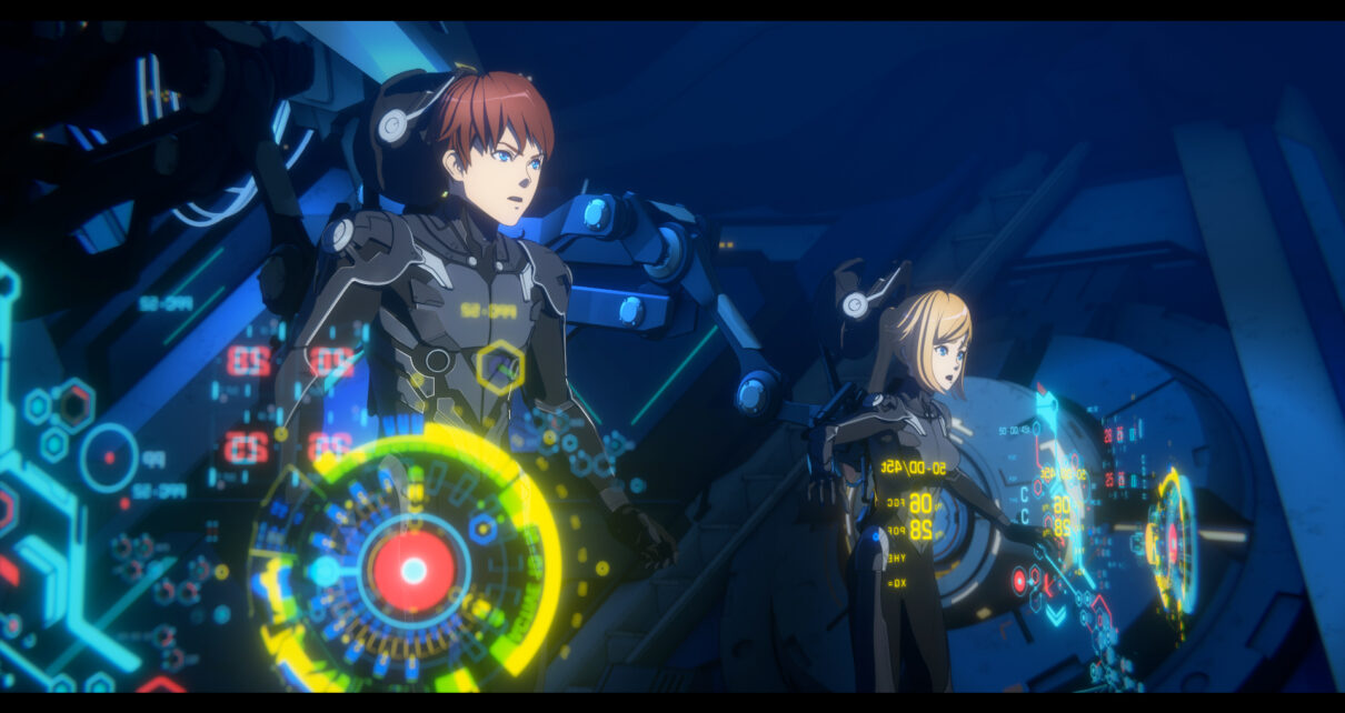 Pacific Rim The Black serie anime trailer