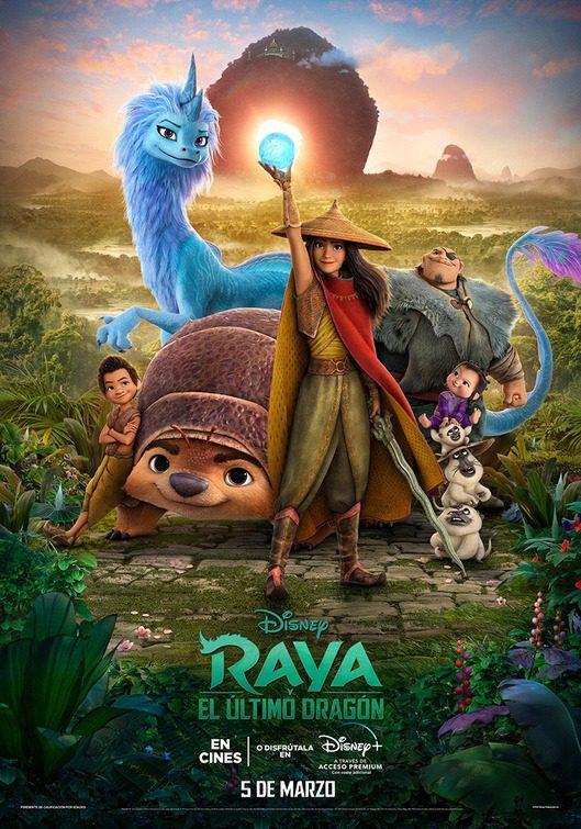 Due nuovi poster da Raya e l'ultimo drago, il film d'animazione Disney