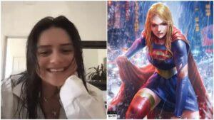 Sasha Calle supergirl in the flash