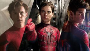 Spider-Man 3 tobey maguire, andrew garfield, tom holland