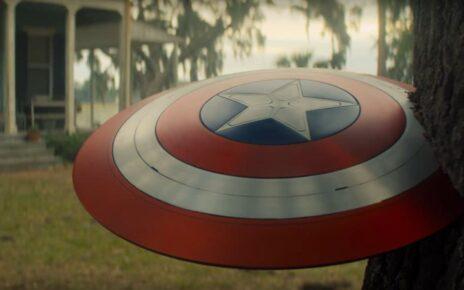 Scudo Captain America in The Falcon and the Winter Soldier